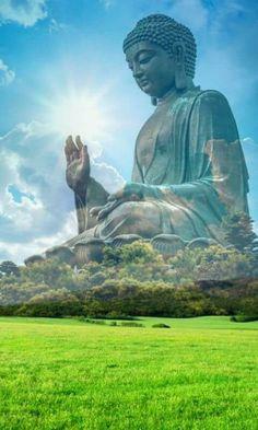 """Honesty is more than not lying. It is truth telling, truth speaking, truth… Art Buddha, Buddha Kunst, Buddha Zen, Buddha Painting, Gautama Buddha, Buddha Buddhism, Buddhist Art, Buddha Meditation, Yoga Studio Design"
