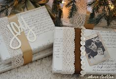 Dear Lillie: Beautifully wrapped gifts