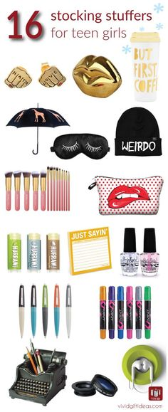16 stocking stuffer ideas for teenage girls christmas gifts for teen