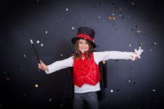 Disfraz de mago. Varita mágica. Espectáculo y magia Eurekakids