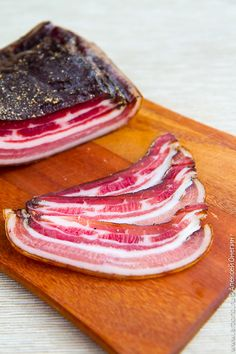 This Slavic recipe reminds me of my youth. We called it Salnena (sp?) fresh cured bacon. It can be eaten sliced thinly as is or lightly fried. Delish!!