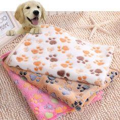 Coisas Variadas Para Pets: Cobertores Fofos Para Pets