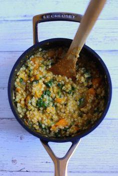 One Pot Butternut Squash Grain Bowl