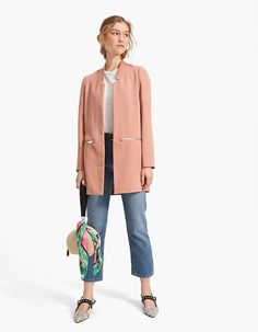 Catálogo Stradivarius Primavera Verano 2018 rosa y jean