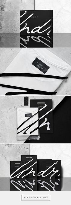Undr | Branding & packaging | Undr constitutes a brand of men's basics and underwear garments.