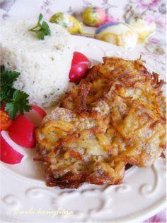 Zalai rántott sertésszelet Pork Recipes, Chicken Recipes, Hungarian Recipes, Romanian Recipes, Romanian Food, Pork Dishes, Fine Dining, Lasagna, Bacon