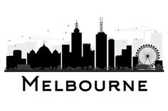 Melbourne City skyline black and white silhouette. Melbourne Skyline, Melbourne Tattoo, Skyline Tattoo, Skyline Art, Instagram Feed Theme Layout, Art Painting Tools, City Outline, Skyline Silhouette, Tatoo