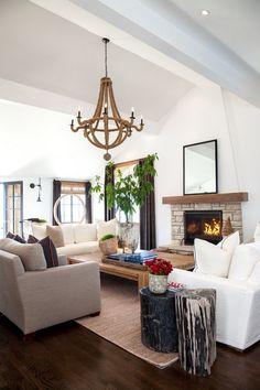 Gorgeous living room by Leo Parrella Design Group