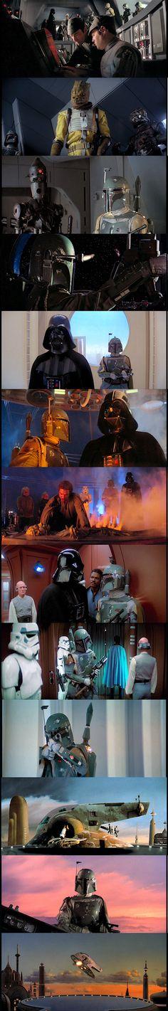 Boba Fett in Star Wars The Empire Strikes Back
