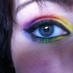 Rainbow :3 I did