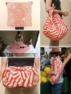 Furoshiki is an amazing Japanese art form of folding and wrapping cloth into amazing bags, carriers, and most occasionally gifts which dates back...