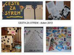 Cesta za sýrem - duben 2013 Bulletin Boards, Hampers, Bulletin Board, Data Boards