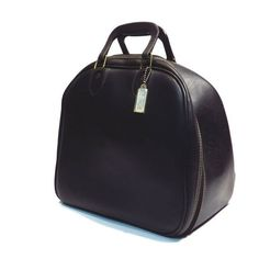 Black Bowling Bag Vintage 1960s 1970s Rockabilly Bowling Ball Bag... ❤ liked on Polyvore featuring bags and luggage