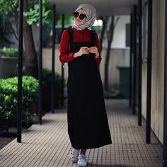 Casual Chic, Hijab Style, Casual Hijab Outfit, Hijab Chic, Islamic Fashion, Muslim Fashion, Modest Fashion, Maxi Outfits, Fashion Outfits