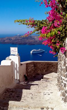 Caldera Steps - Fira, Santorini