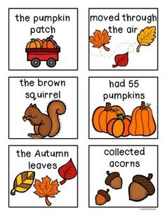 Simple Subject And Simple Predicate Worksheets & Teaching Resources Simple Subject And Predicate, Sorting, Teaching Resources, Fall, Autumn, Fall Season