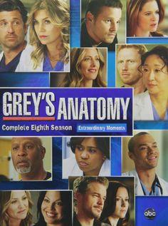 Grey's Anatomy Season 8 DVD Set