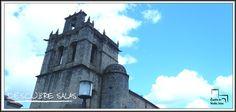 Colegiata de Santa María la mayor. Hotel Castillo de Valdés Salas. Asturias
