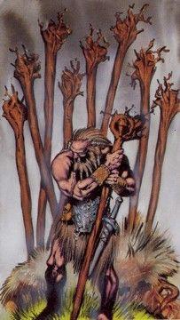 Tarot Card Decks, Tarot Cards, Celtic Tarot, Nine Of Wands, Irish Celtic, Major Arcana, Sith, Deck Of Cards, This Is Us