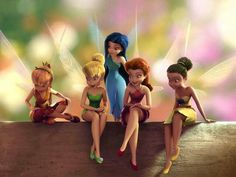 High Quality Tinker Bell Fairies Picture Photo Image Or Wallpaper