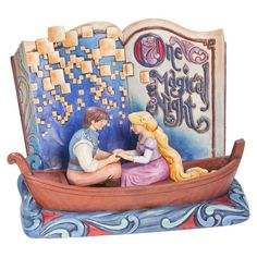 Jim Shore® Rapunzel Storybook Figurine