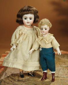 Bread and Roses - Auction - July 26, 2016: 252 Large German All-Bisque Doll, Model 886, by Simon and Halbig with Rare Stockings