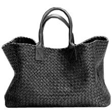Bottega Veneta black tote _