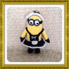 Crochet Minion Maid from Despicable Me