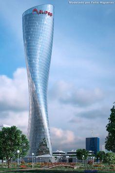 Torre Elipse Día Sol