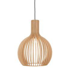 Ales Pendant Lamp - Natural 100% linden wood £125, Urbanara