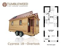 Tiny House Talk - Small Spaces More Freedom | Elm 18 Overlook: 117 Sq. Ft. Tumbleweed Tiny Home on Wheels | http://tinyhousetalk.com