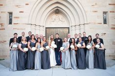 silver bridal party