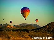 A dramic photo gallery including preparation, inflation, take off, and views from the air. Balloon Rides, Hot Air Balloon, Arizona Travel, Arizona Trip, Living In Arizona, Adventure Bucket List, We The Best, Places To See, The Good Place