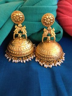 Unusual Indian Jhumkas (Jumkas) available now in Singapore at The Sandalwood Room