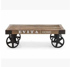industrial coffee table - Google Search