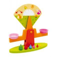 Legler Childrens Wooden Toy Balance Scale
