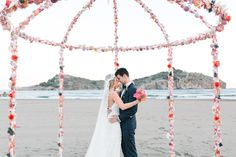 Costal destination wedding in Turkey | Photo by Yeliz Atici Photography | Read more - http://www.100layercake.com/blog/wp-content/uploads/2015/02/Destination-wedding-in-Turkey-1.jpg