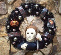 Michael Myers Wreath