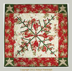 It's Snowing Trees quilt pattern by Robyn Pandolph