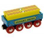 Graham's Steel Girders. Toy wooden train by Bigjigs.  Wooden toys. Imaginative Play. Preschooler. Preschool. Toddler. Fun. Learning. Educational.