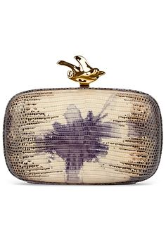 Givenchy Clutch. Chic. Artsy. Simple. Love!