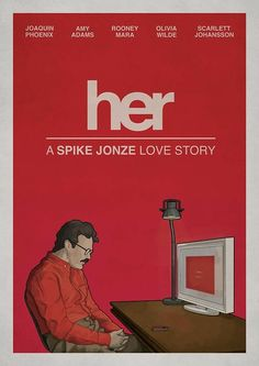 Her (2013) Joaquin Phoenix, Amy Adams, Rooney Mara, Olivia Wilde Scarlett Johansson