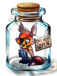 Shipmate in a Bottle by AnimatronicBunny on DeviantArt I would open it repin if you would too