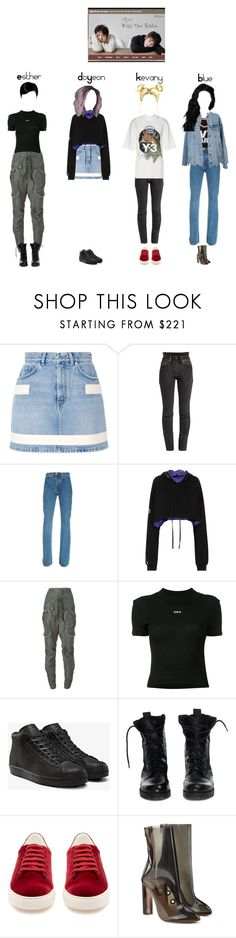 """Kiss The Radio Interview with DLXX"" by officialdlxx ❤ liked on Polyvore featuring Ivy Park, Givenchy, Vetements, Unravel, Faith Connexion, Off-White, adidas, Theyskens' Theory, Anya Hindmarch and adidas Originals"