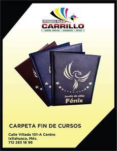 Carpetas Profesionales en toluca - Ixtlahuaca - Estado de México