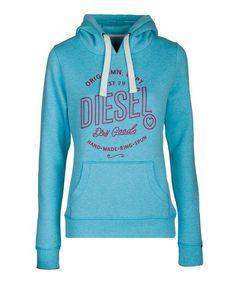 Louise Hood (Maui Blue Melange) Summer Collection, Maui, Diesel, Spring Summer, Hoodies, Sweaters, Fashion, Diesel Fuel, Moda