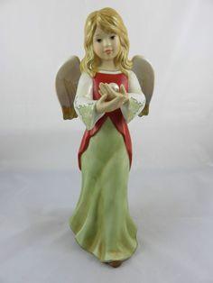 Goebel Engel Ein Stück vom Himmel rot-grün