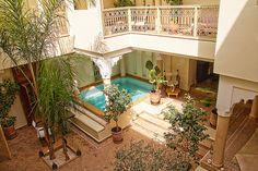 A Riad in marrakech, Morocco.