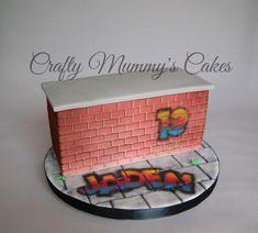 Graffiti cake! - Cake by CraftyMummysCakes (Tracy-Anne) https://www.facebook.com/CraftyMummysCakes