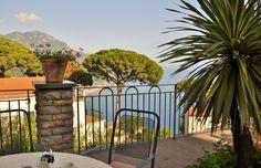 Hotel patio in Ravello by Deanna Masterson